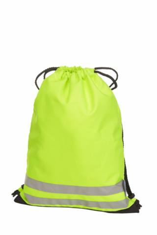 drawstring bag REFLEX neon yellow 225306