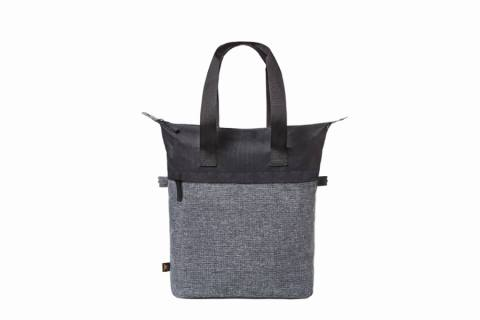 shopper ELEGANCE black-grey sprinkle 225376