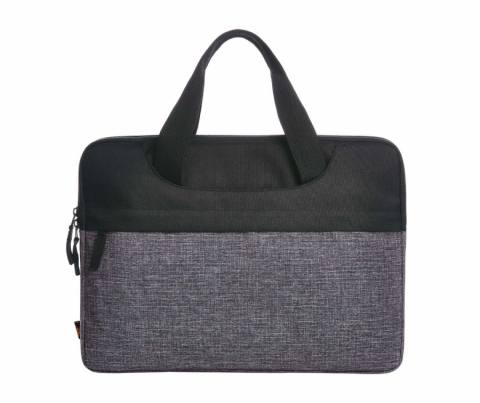 Laptop bag ELEGANCE black-grey sprinkle 225380